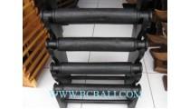 Black Wooden Displays Bracelets