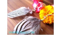 Bead Feather Earring