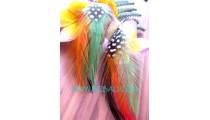 Birds Feather Earrings Unique Design