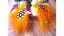 Black Feather Earring Jewelry
