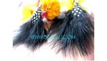 Drop Earrings Feather