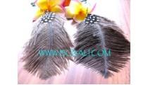 Earrings Feather Unique Design