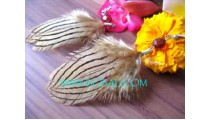Fashion Feather Earrings
