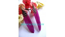 Feather Earring Fashion