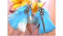 Feather Earring For Fashion