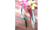 Feather Earrings Bali