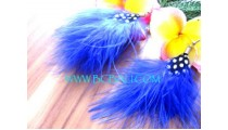 Feather Earrings For Girl
