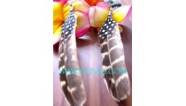 Feather Earrings For Ladies