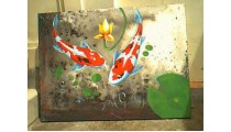 Animal Fish Wall Painting
