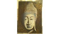 Budha Face Bali Painted