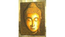 Face Budha Painting