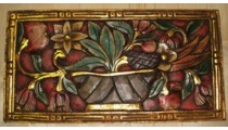 Floral Wall Hanging Carvings