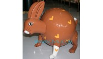 Rabbit Animal Painted