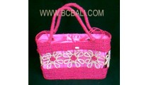 Casual Woman Straw Bag