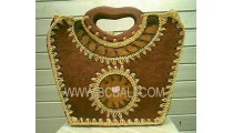 Exotic Handmade Straw Bags