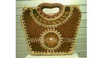 Exotic Handmade Straw Bags