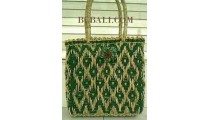 Fashion Straw Handbags Handmade