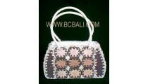 Handbag Fashion Leave Handmade