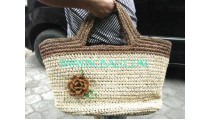 Handmade Handbags From Straw