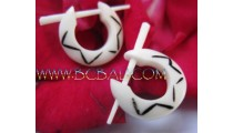 Bone Craft Earring Tattoo