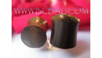 Coco Wooden Plug In Tribal