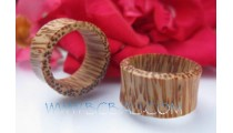 Coco Wooden Tribal Earring