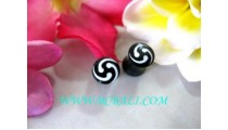 Earring With Tribal Design