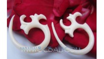 Nature Bone Earring Tribal