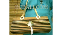 Bamboo Handbags Shell