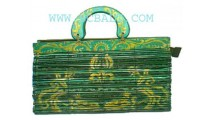 Hand Painted Bamboo Bags