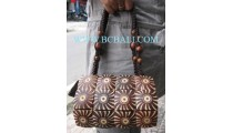 Casual Wooden Handbags Coco