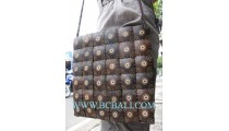 Coconut Carving Casual Handbags