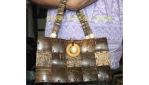 Design Casual Jamaican Wooden Purses