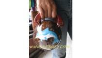Hawaiian Coconut Cosmetic Bags