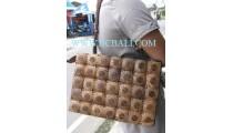Ladies Carving Coco Handbags