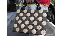 Ladies Casual Coconut Wooden Bags