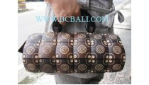 Natural Carving Wooden Bag