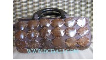 Natural Handbag Coconut