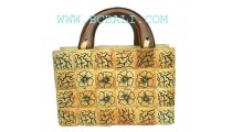 Natural Painting Coco Bag