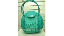 Exotic Rattan Handbag