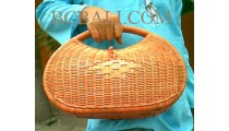 Handbags Rattan Cousmetic