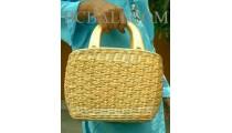 Handbags Rattan Oval