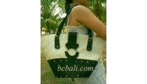 Handbags Suede Pandanus