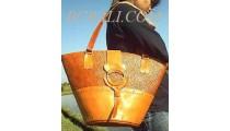 Leather Handbags Pandanus