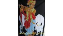 Animal Sarongs Handpainted