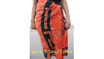 Celtic Sarong Hand Painted