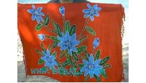 Ethnic Hand Painted Batik Sarongs
