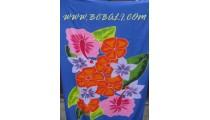 Floral Balinese Rayon Sarongs