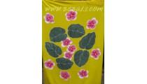 Floral Panted Rayon Sarongs