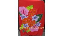 Floral Rayon Beach Sarongs